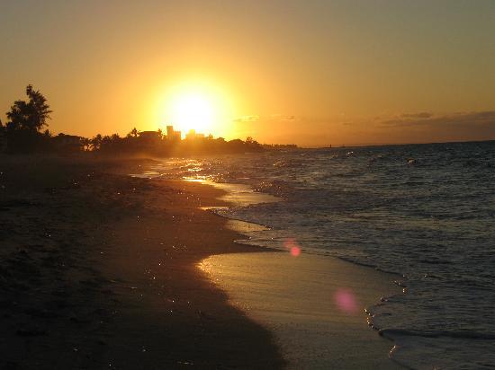 فاراديرو, كوبا: Sunset