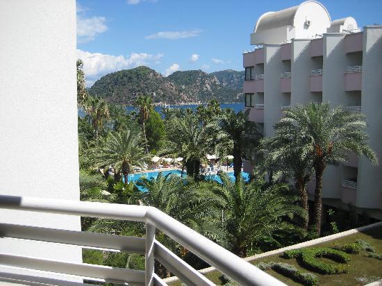 Hotel Aqua: view from balcony room 359