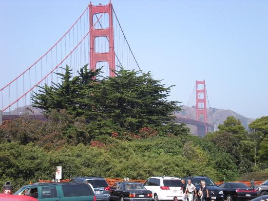 Sheraton Fisherman's Wharf Hotel: The Bridge - the only day out of the two weeks when it was clear