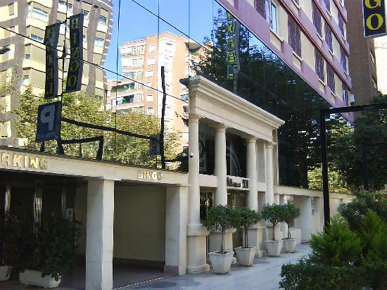 Hotel Sercotel Alfonso XIII: entrada dos
