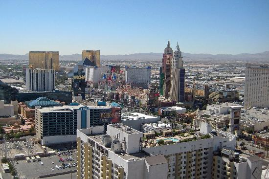 Marriott S Grand Cau View Of The Las Vegas Strip From Roof