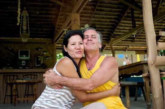 Apo Island, Philippines : Robert and Majika