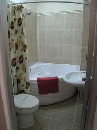 Elegant Inn: Massive bathtub....hard to come by in S.E. Asia!
