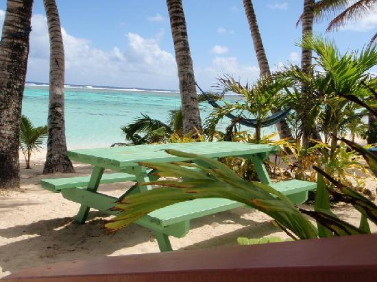 Bella Beach Bungalows: view from bungalow