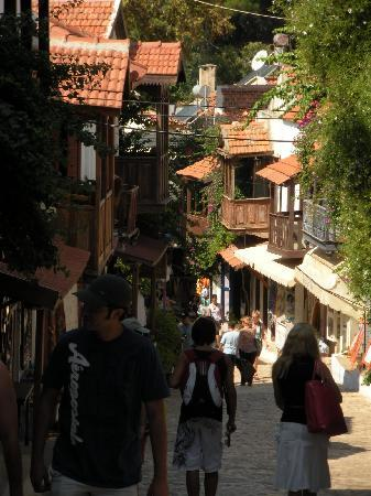 Gardenia Boutique Hotel: One of the streets in KAS