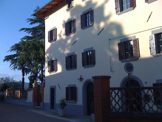 Citta di Castello, Italy: Front of Palazzo Majo