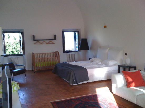 Citta di Castello, Italien: Our room at Palazzo Majo