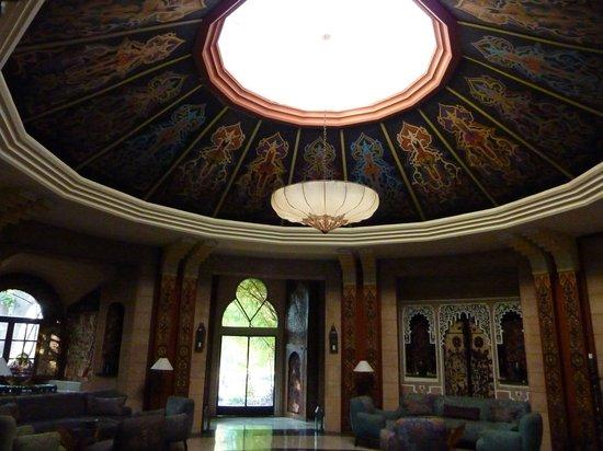 La Gazelle d'Or: le salon marocain rond
