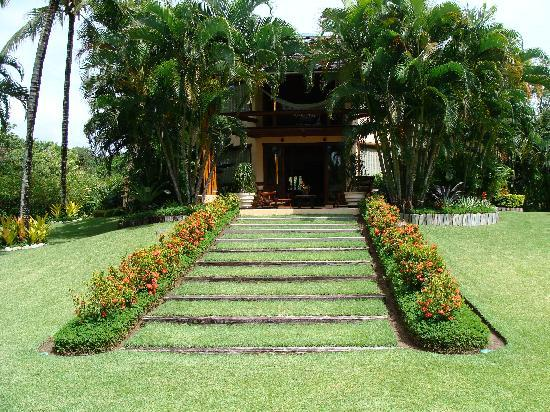 Villas de Trancoso Hotel: What an entrance