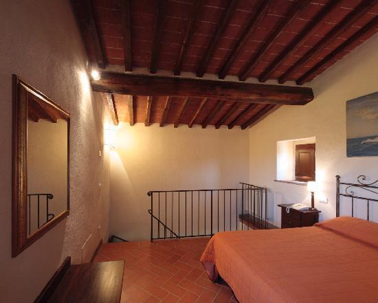 Hotel Podere Le Noci: camera meravigliosa...