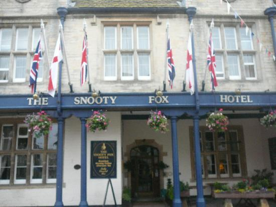The Snooty Fox Hotel Façade (Front)