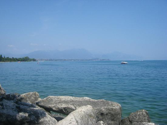"Piantelle Camping: View from ""beach"""