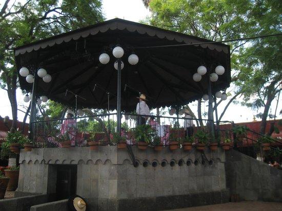 Tlaquepaque, เม็กซิโก: El kiosco del Parian
