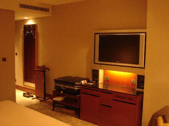 San Want Residences: The flat TV
