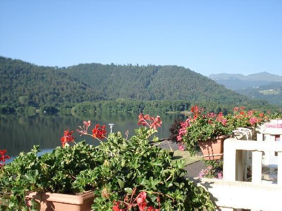 La Bonne Hotesse : vue du balcon