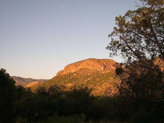 Casitas de Gila Guesthouses: Sunset at Casitas