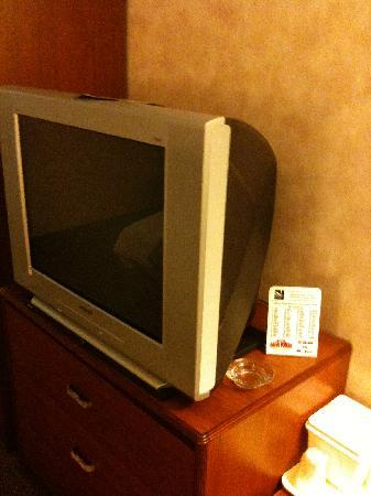 "Quality Inn Christiansburg: ""New"" TV"