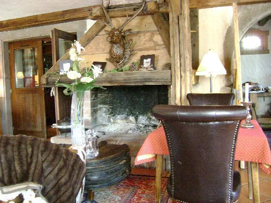 Le Clos de la Garenne : L'une des salles du restaurant