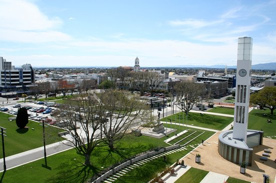 The Square in Palmerston North courtesy of Destination Manawatu