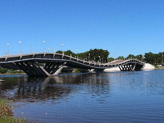 Brücke bei Punta del Este