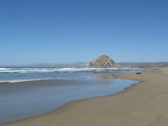 Central Coast Outdoors: Morro Rock from the sandpit beach