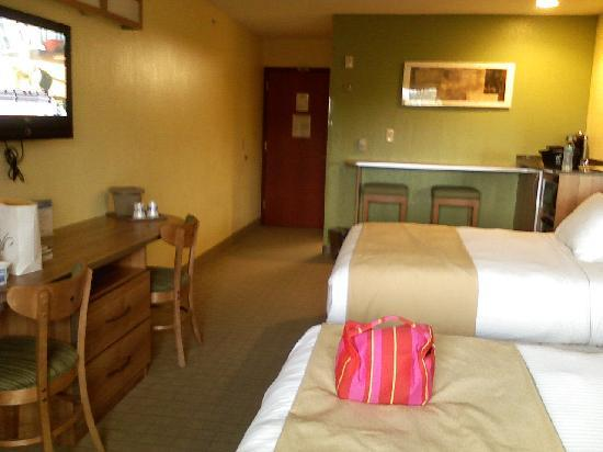 Microtel Inn & Suites by Wyndham Johnstown: my suite --- the best in the area!