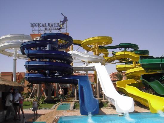 Aqua Vista Resort & Spa: les toboggans du garden albatros