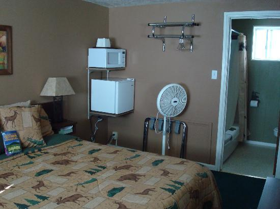 Evergreen Motel: chambre