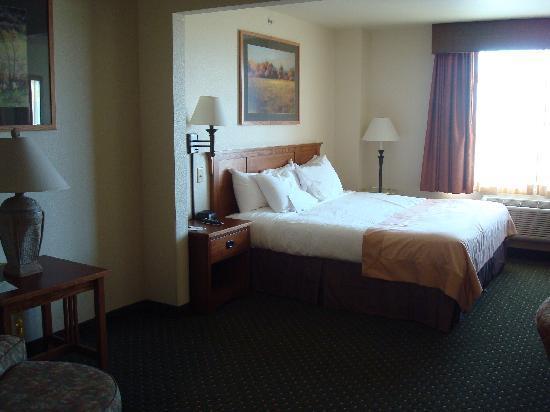 Comfort Inn & Suites: chambre