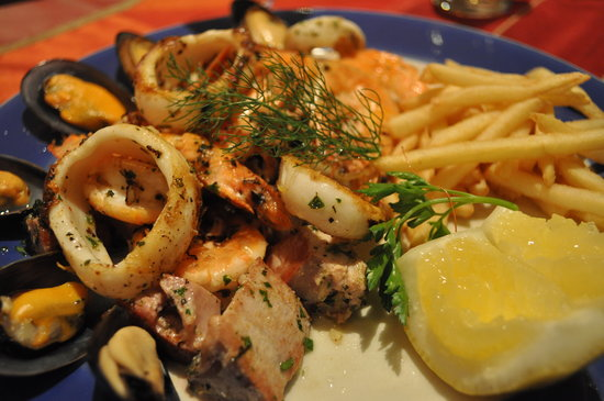 The Med Seafood Bistro: the med