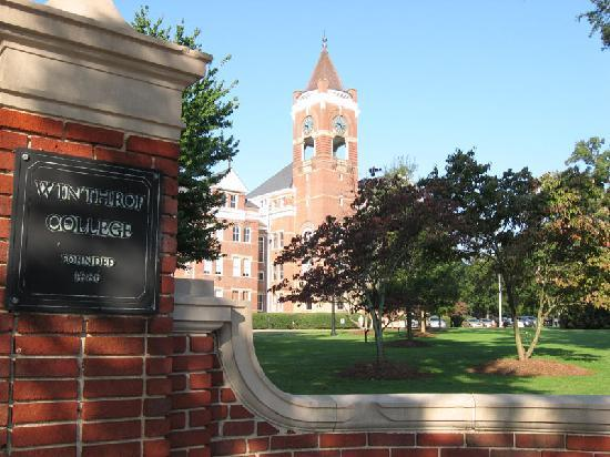 The Book and the Spindle : Winthrop University - across the street