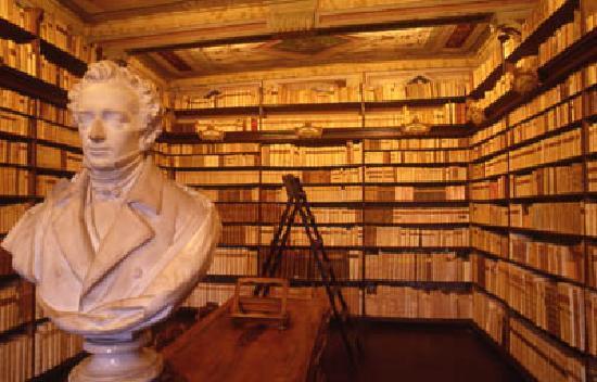 Recanati, Italie : Biblioteca Leopardi