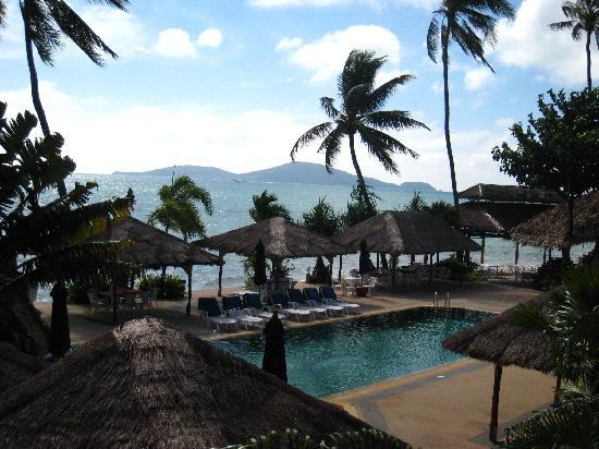 Friendship Beach Resort & Atmanjai Wellness Centre: View from my balcony