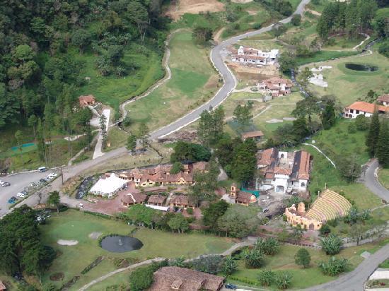 Valle Escondido Resort Golf & Spa: Bird View
