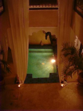 Riad Jahan: Plunge pool - very cold!