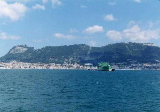The approach to Tanger by ferry