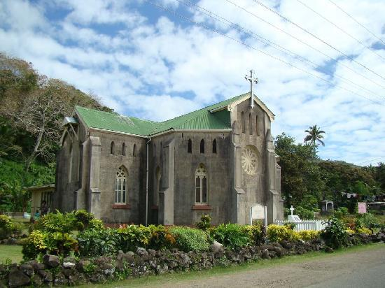 Levuka Homestay: Church