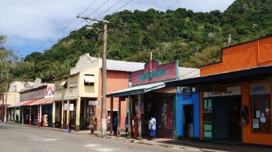 Levuka Homestay: Town