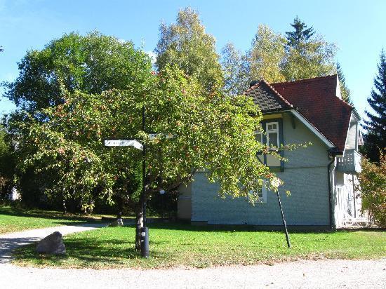Schwarzwald Parkhotel: Fussweg zum Zimmer