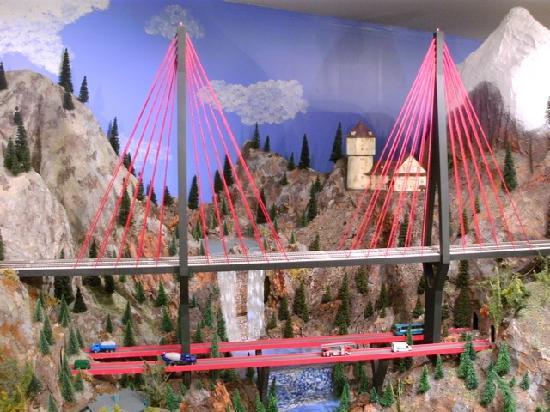 Osoyoos Desert Model Railroad: tolle Brücke