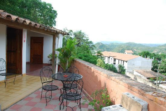 Your own terrace and view over Gracias