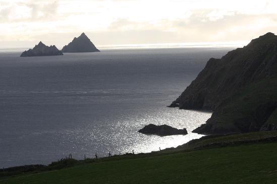 Ring of Kerry: skellig rocks