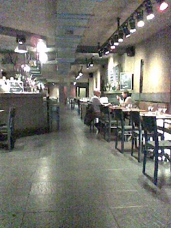 Le Cap: intérieur restaurant