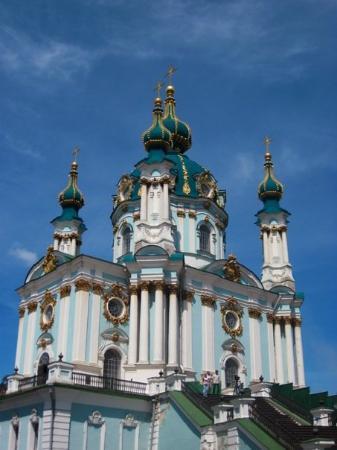 Andriyivski Uzviz: Kyiv