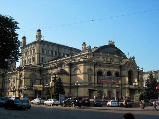National Opera Kyiv Fotograf 237 A De Kiev Ucrania