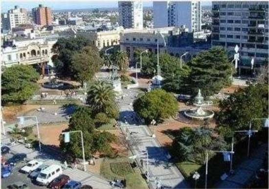 Rafaela, Argentina: la plaz 25 de mayo parana