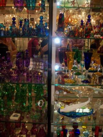 Vecchia Murano: Famous Venetian glass.