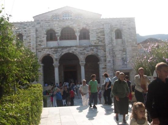 Parikia, Greece: ΠΑΝΑΓΙΑ ΕΚΑΤΟΝΤΑΠΥΛΙΑΝΗ ΠΑΡΟΥ