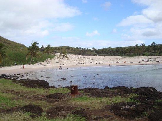 Anakena Beach: Playa Anakena.