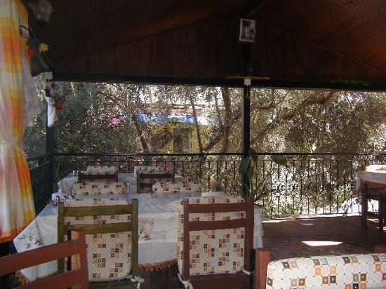 Akay Pension: The terrace